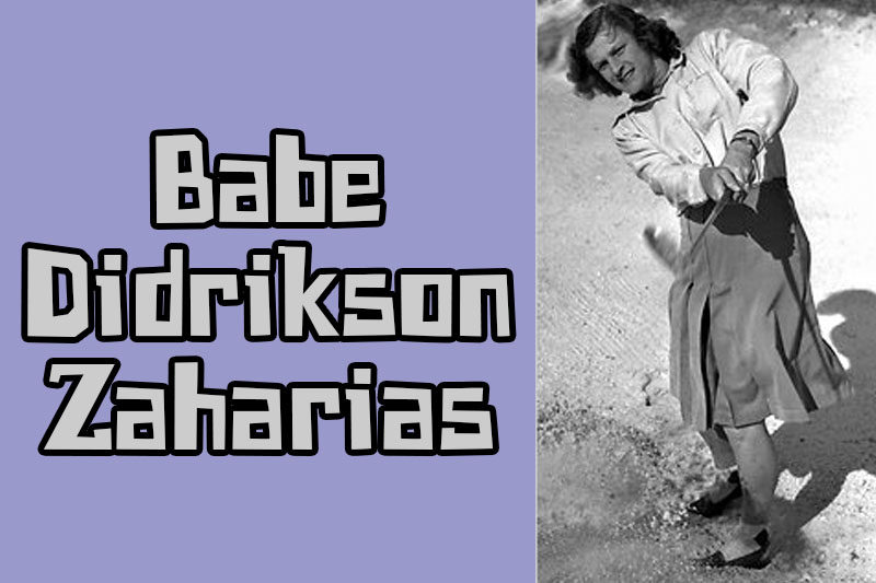 a biography of mildred ella didriksen an american athlete Babe didrikson-zaharias(mildred ella) was the most renowned american female athlete to ever go down in history babe was born on june 26, 1911, was raised in a large family, home to seven children and grew up in beaumont, texas.